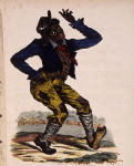 "Edward Williams Clay (1799-1857) lithograph, cover to sheet music of ""Jump Jim Crow,"" a song popularized by American minstrel Thomas Dartmouth Rice about 1832."