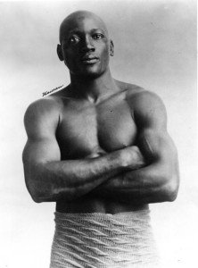 The son of former slaves, Jack Johnson became the first African American heavyweight boxing champion of the world.
