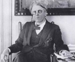 WB Yeats after receiving Nobel Prize 1923