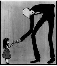 The Slender Man is an online boogeyman that has grown into a digital urban legend through photo-shopped images and reader-generated stories on websites.