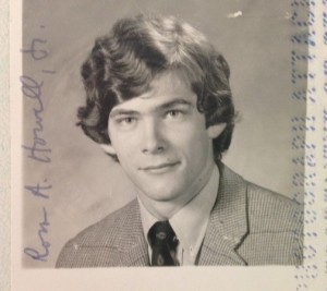 Passport photo of the author in 1972, just before his backpack excursion to Great Britain and Europe. What a callow lad!