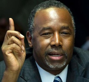 Mild-mannered primary candidate Ben Carson has made outrageous claims.